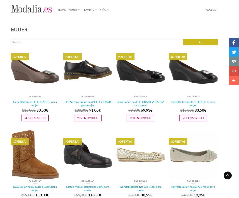 Modalia Shopping