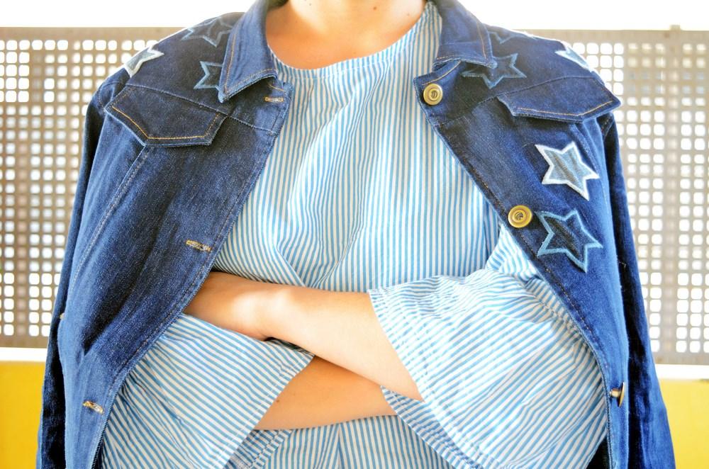 Mi vestido azul que